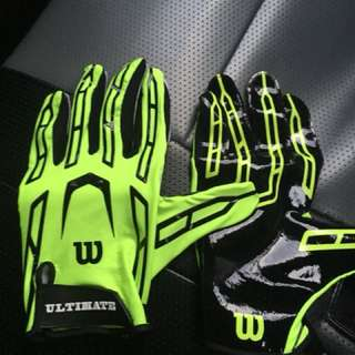 Wilson Ultimate Grip receiver gloves
