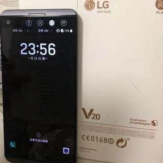 (不議價)LG v20 64gb rom 4gb ram Titan 雙卡水貨