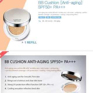 Laneige bb cushion anti aging spf 50+ pa+++