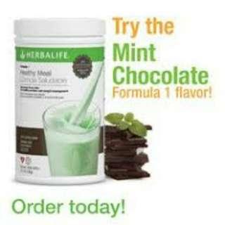 Shake Herbalife Choco Mint