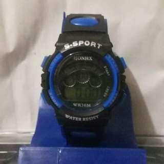 Jam tangan anak digital anti air tanpa box mica