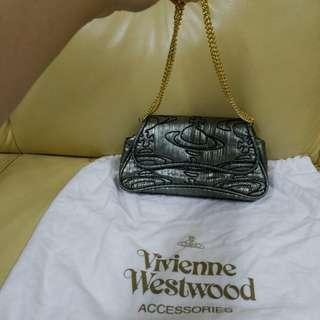 Vivienne Westwood 袋95% new 20x12x9.5 cm