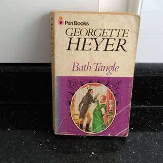 Historical romance...Georgette Heyer...Bath Tangle