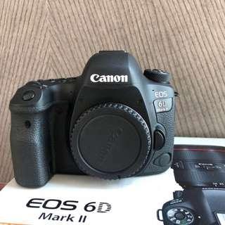 Canon 6d Mark 2 mk ii body