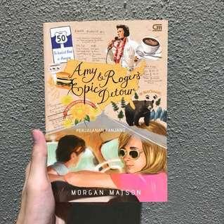 Amy and Rogers Epic Detour Novel