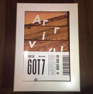 GOT7 Flight Log: Arrival (Never Ver.)