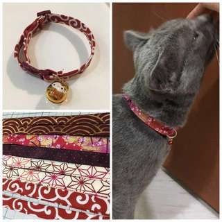 Customised Handmade collars! 18cm-30cm for cats or small sized dogs!