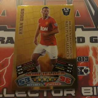 Match Attax Ryan Giggs