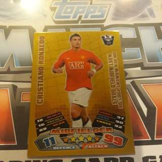Match Attax CR7