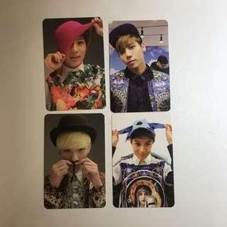 Shinee Photocards