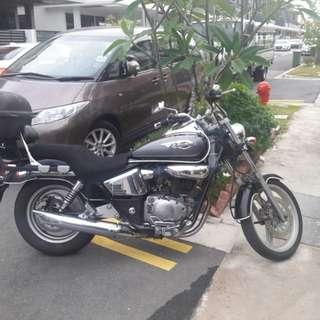 Honda Pantom TA200 for sale coe 2022