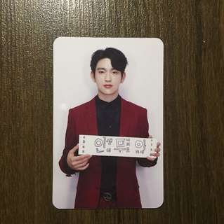 Jinyoung Promise Ver. Photocard (Flight Log: Arrival)