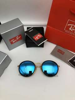 ray ban round folding rb3517 w2823 model 51mm size rayban brand new full packages original