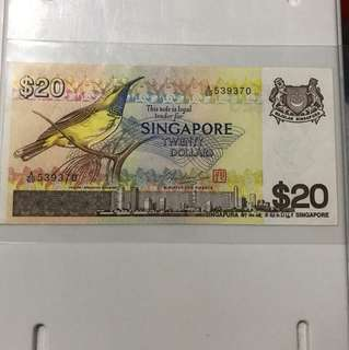 20 Dollar Birds series  Note