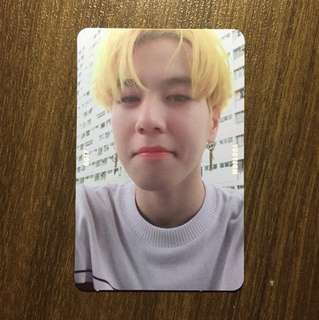 Yugyeom Selfie Ver. Photocard (7For7)