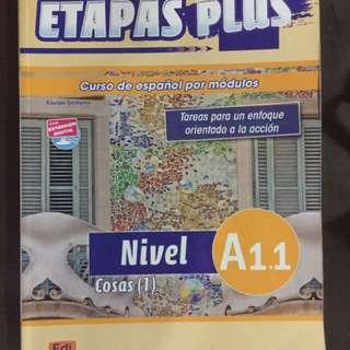 Spanish Book: Etapas Plus A 1.1