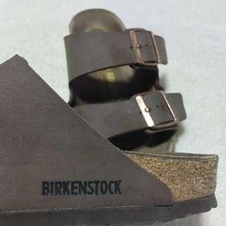 Authentic Birkenstock Arizona (dark brown)