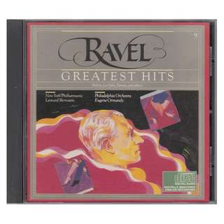 Ravel Greatest Hits (Classical CD /Made in USA)