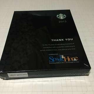 Starbucks Planner 2013