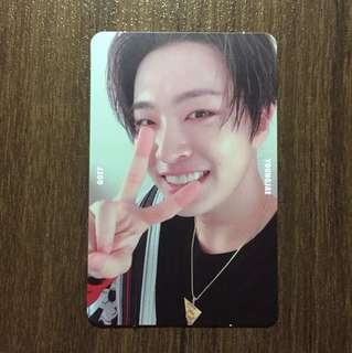 Youngjae Selfie Ver. Photocard (7For7)