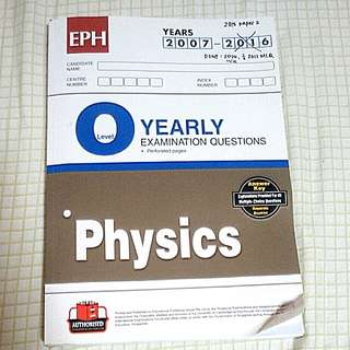 Olevel Physics TYS yearly