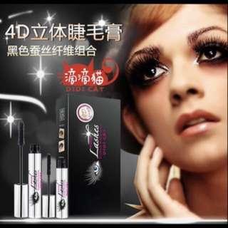 di di cat 4D mascara!waterproof/sweatproof/longer thicker lashes