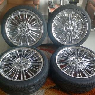 Velg cantik (chrome) R18 for All New Avanza & Xenia