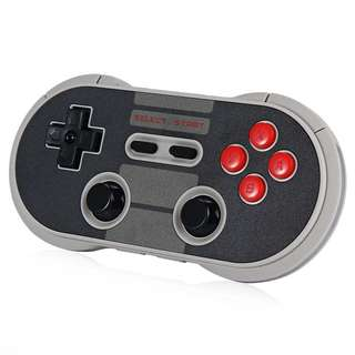 8Bitdo NES30 Pro Wireless Bluetooth Controller Dual Classic Joystick Pc for iOS Android Gamepad Game Controller PC Mac Linux