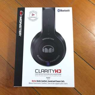 Monster  Clarity HD Wireless Headphone