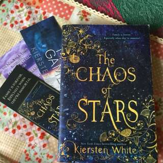 The Chaos of Stars (with three official harperteen bookmarks)