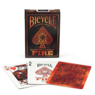 Bicycle Fire Playing Cards ( Element Series )