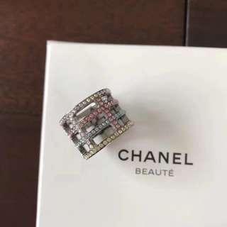 Chanel 香奈兒 全套標配❗碼數有16 17 18毫米 內圈直徑❗ Ch@nel 彩色鑽 戒指