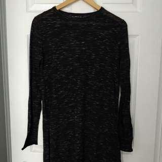 Zara Long Knit Top