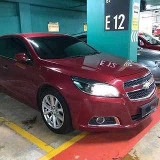 Chevrolet Malibu 2.4 LTZ (under warranty)