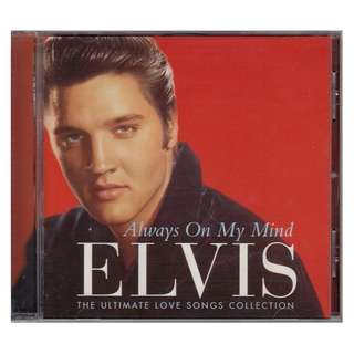 Elvis Presley: Always on My Mind - The Ultimate Love Songs Collection (1997 CD)
