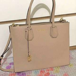 Michael Kors (Mercer Large Leather Tote)