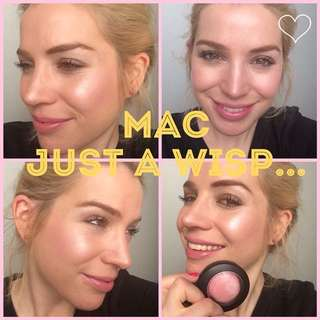 MAC Mineralize Just A Wisp Blush Highlight