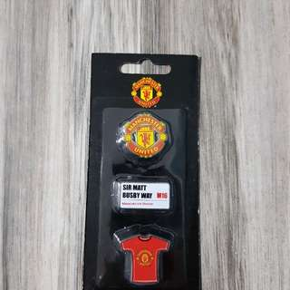 Manchester United Limited Edition Pins