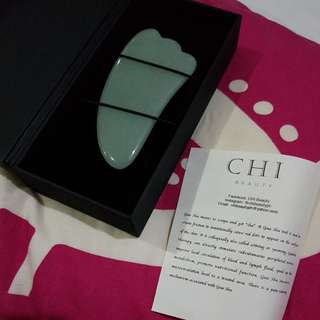 Jade Gua Sha facial massager