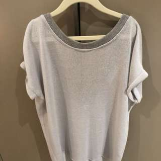 Viktoria + Woods Low back knitted top