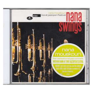 Nana Mouskouri: <Nana Swings> 2003 CD