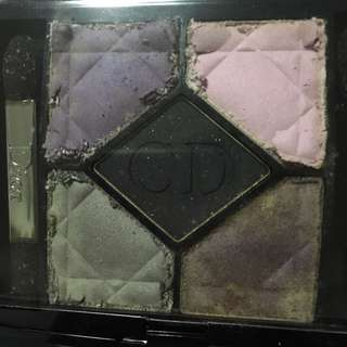 Dior 5 colors Eyeshadow 173 night butterfly