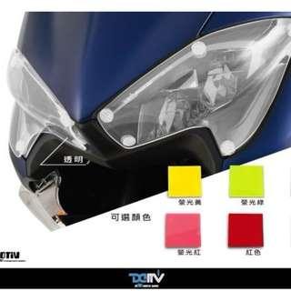 DIMOTIV CLEAR Headlight Protector for Yamaha Tmax 530 2017