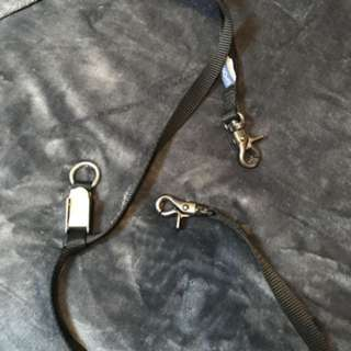 Double dog leash connector