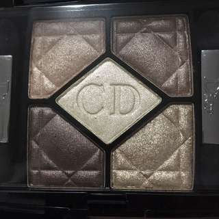 Dior 5 colors Eyeshadow 539 iridescent leather
