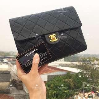 (SOLD)Chanel Vintage 黑色 Mini Flap 20cm