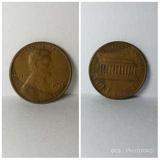 1975 USA 1 cent