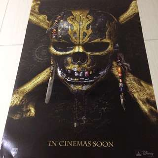 Pirates of the Caribbean movie poster