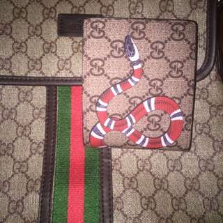 Gucci Messanger Bag And Wallet