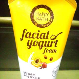 98% FULL Happy Bath Facial Yogurt Foam